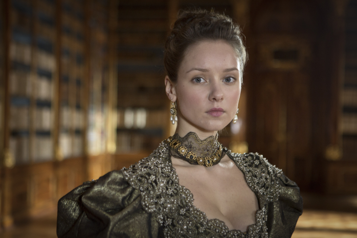 Belle actrice The Musketeers