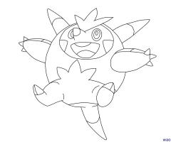 Coloriage Pokemon Boguerisse