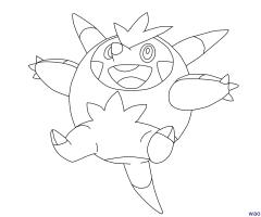 Coloriage Pokemon Boguerisse