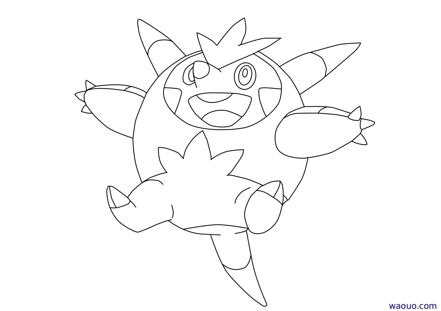 Coloriage bogu risse pokemon x et y imprimer - Coloriage de pokemon x y ...