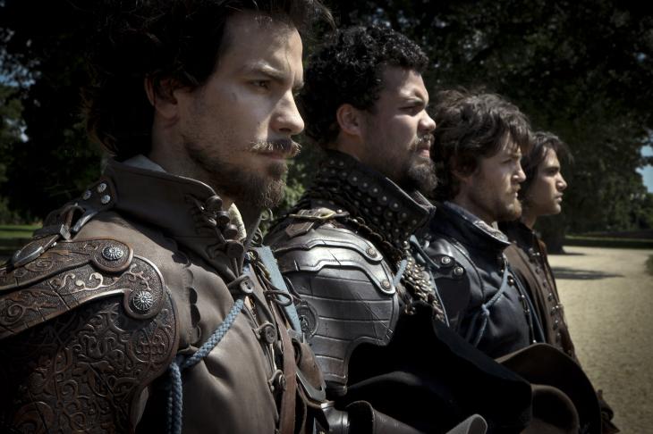D'artagnan Aramis Porthos Athos