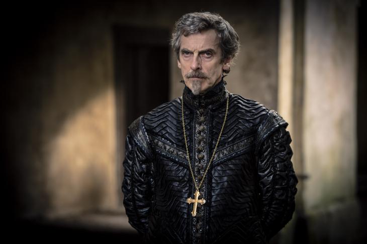Peter Capaldi cardinal Richelieu