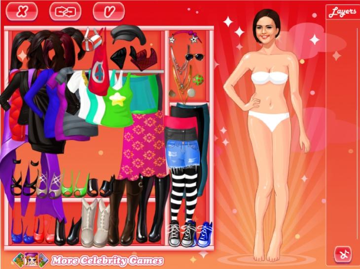 Selena Gomez à habiller