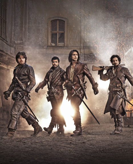The Musketeers 2014