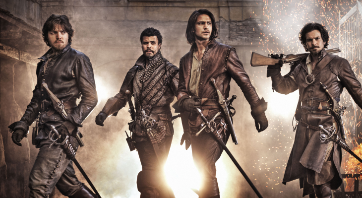 The Musketeers serie 2014
