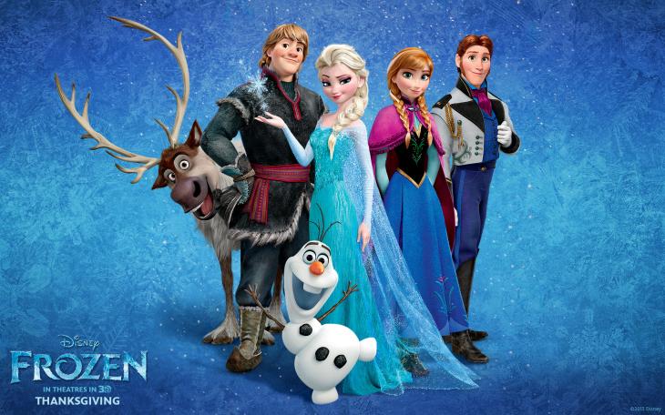 La reine des neiges personnages