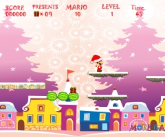Partie de Mario père noël