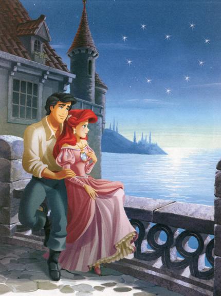 Princesse Ariel et son prince