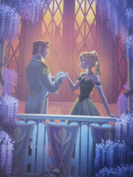 Anna avec Hans la reine des neiges