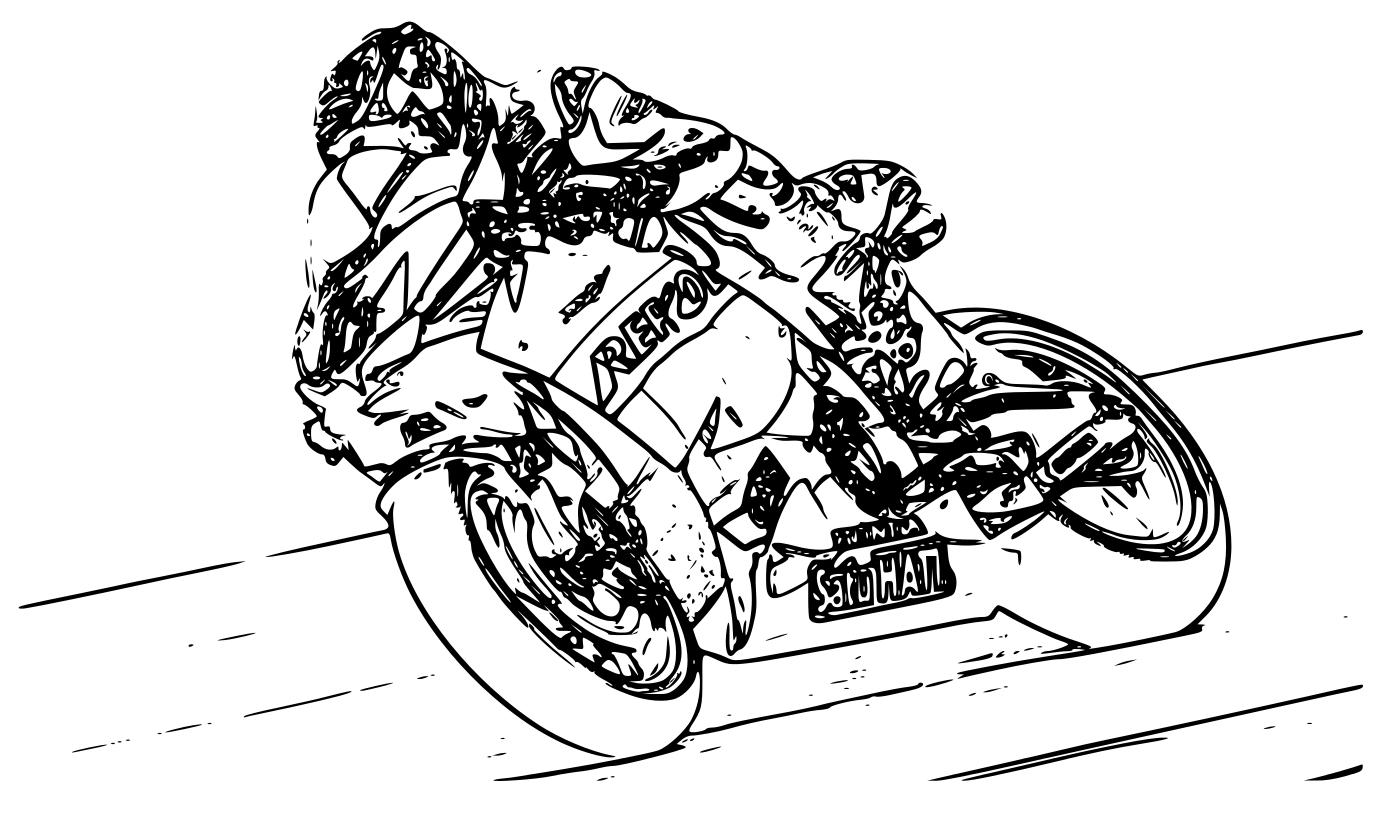Coloriage moto de course imprimer et colorier - Dessins de moto a colorier et imprimer ...
