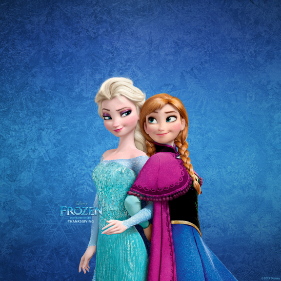 Elsa la reine des neiges avec Anna