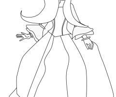 Princesse dessin