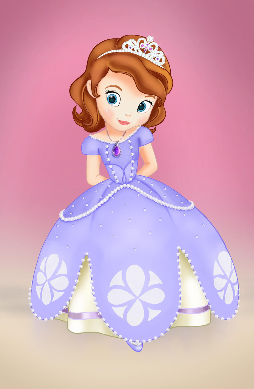 Coloriage Princesse Sofia Disney A Imprimer Et Colorier