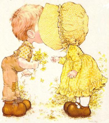 Coloriage De Sarah Kay Pour La St Valentin A Imprimer