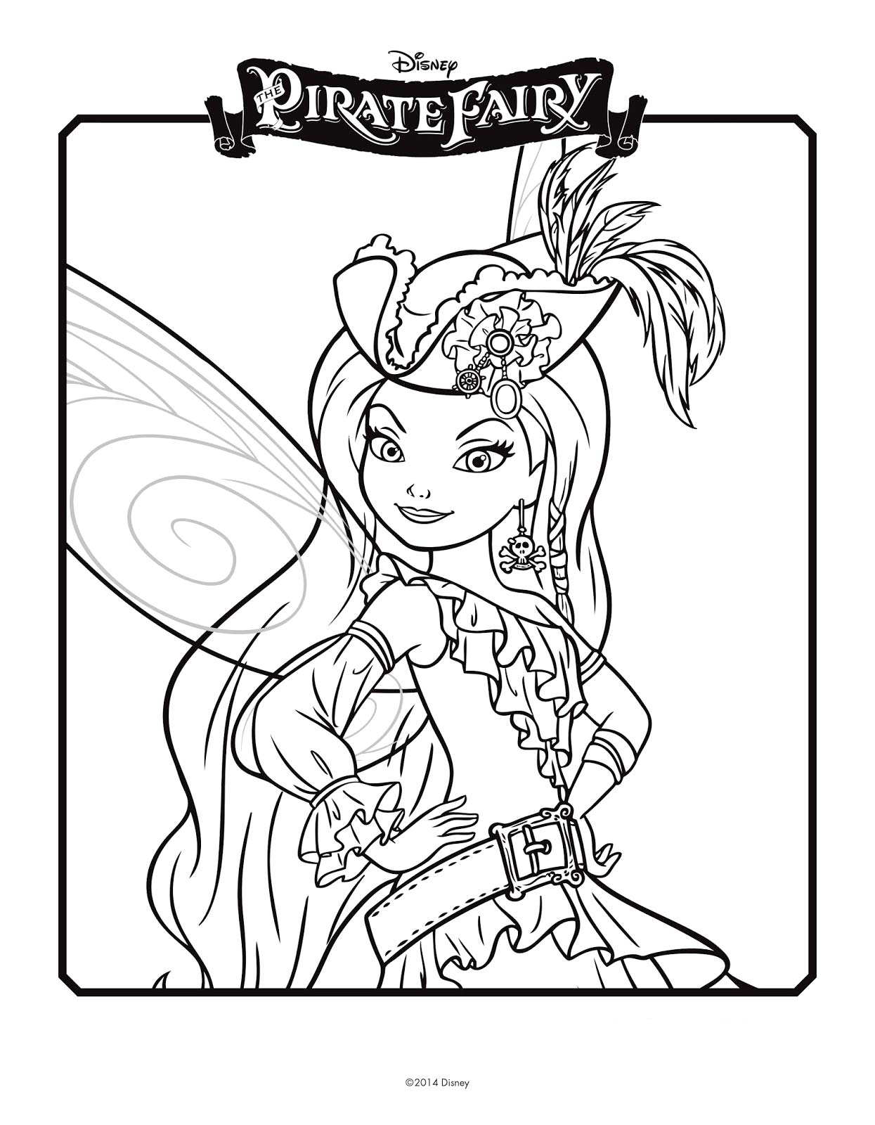 rani the fairy coloring pages - photo#9