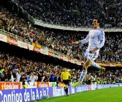 Gareth Bale joie