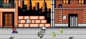 Mario Kart en 2D
