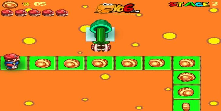 Mario photo labyrinthe