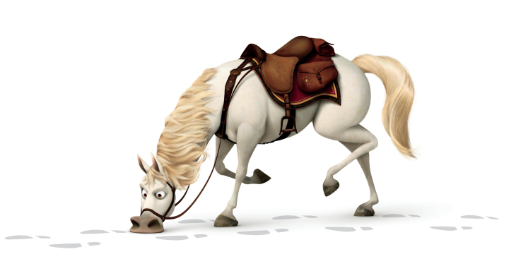 Maximus cheval dans Raiponce