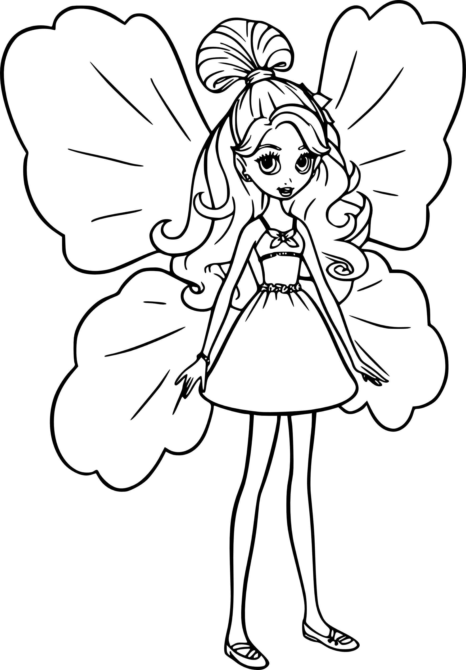 Coloriage barbie lilipucia imprimer et colorier - Barbie a colorier ...