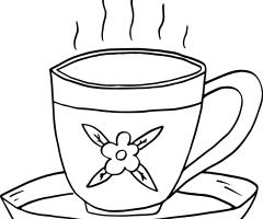 Coloriage thé