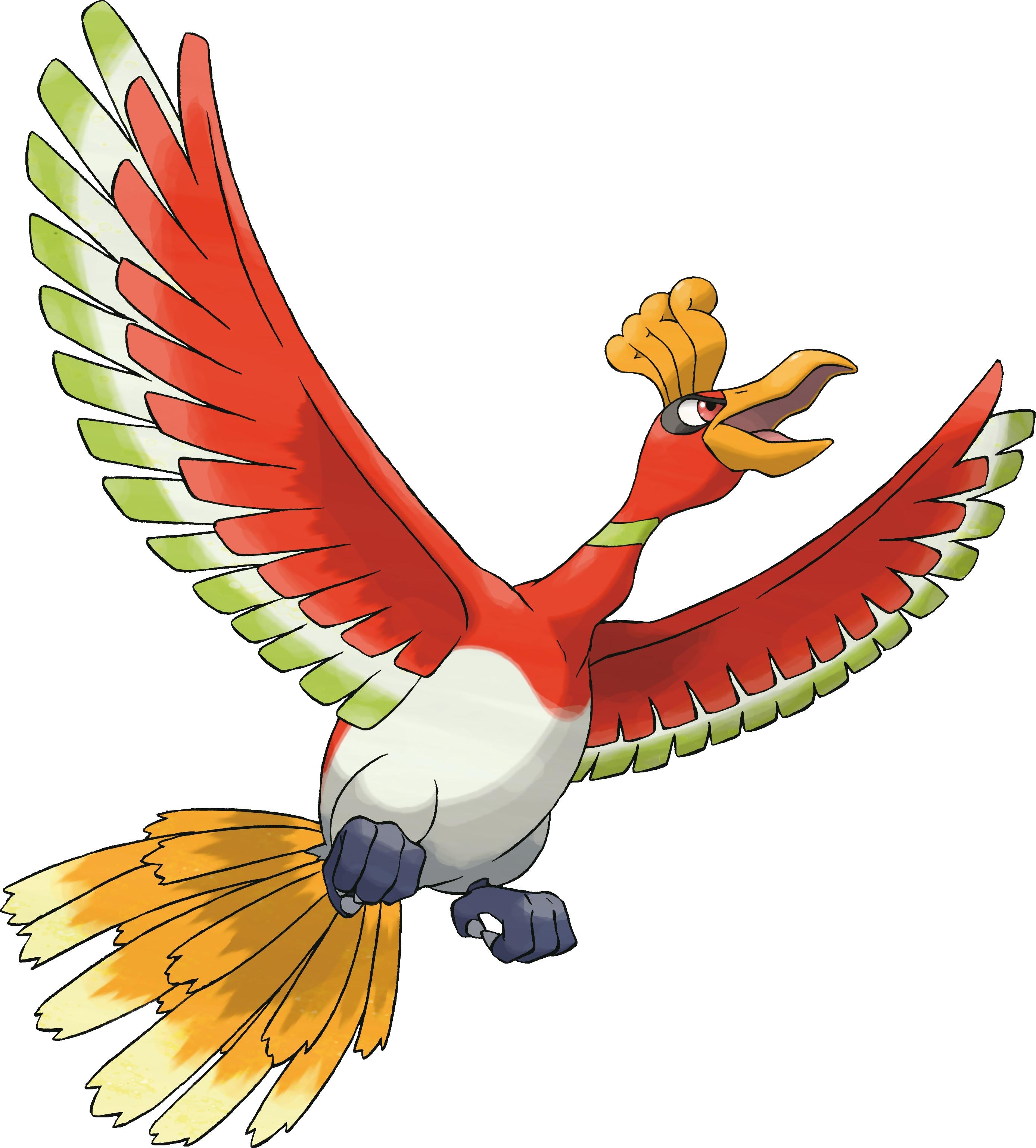 Ho Oh Coloriage Ho Oh Pokemon A Imprimer Et Colorier