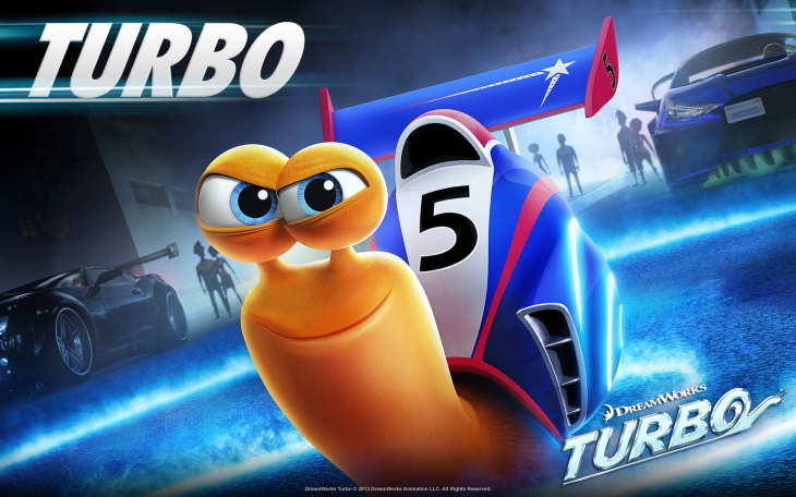 Turbo l'escargot Wallpaper HD