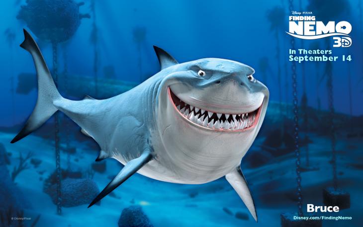 Requin Bruce Disney