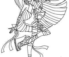 Coloriage Cleo de Nile