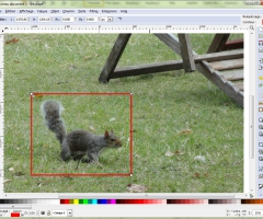 Délimitation Inkscape