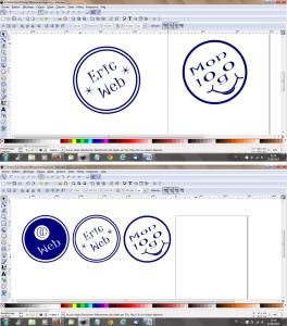 inkscape dessiner un logo