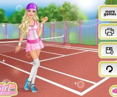 Tennis woman Barbie