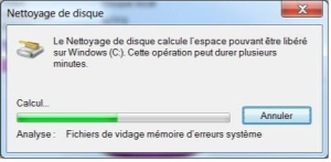 Analyse du disque dur