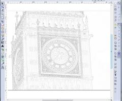 Big Ben au crayon