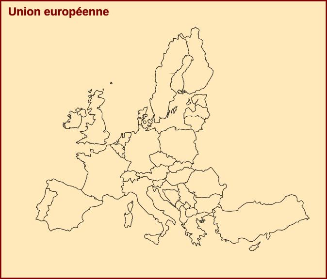Carte De Leurope Vierge Pdf.Carte D Europe A Completer Et A Imprimer