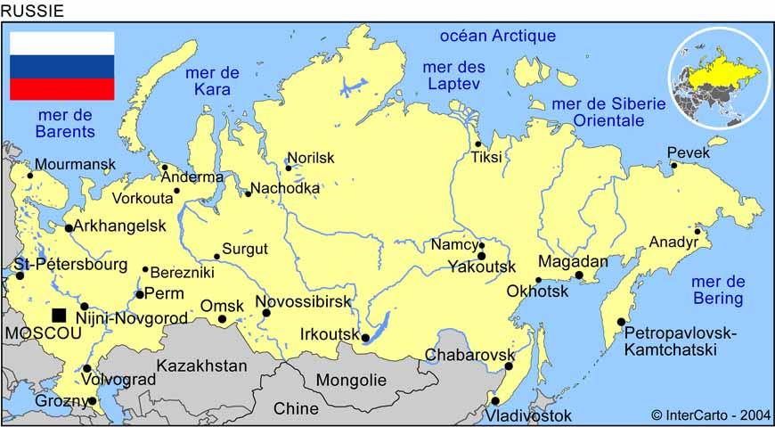 carte russie avec villes carte ville russie   slubne suknie.info