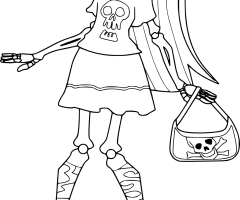 Coloriage Skelita