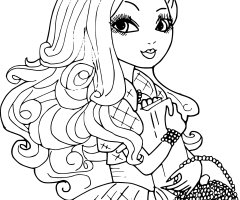 Coloriage Apple White