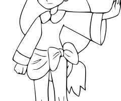 Coloriage Iris Pokemon