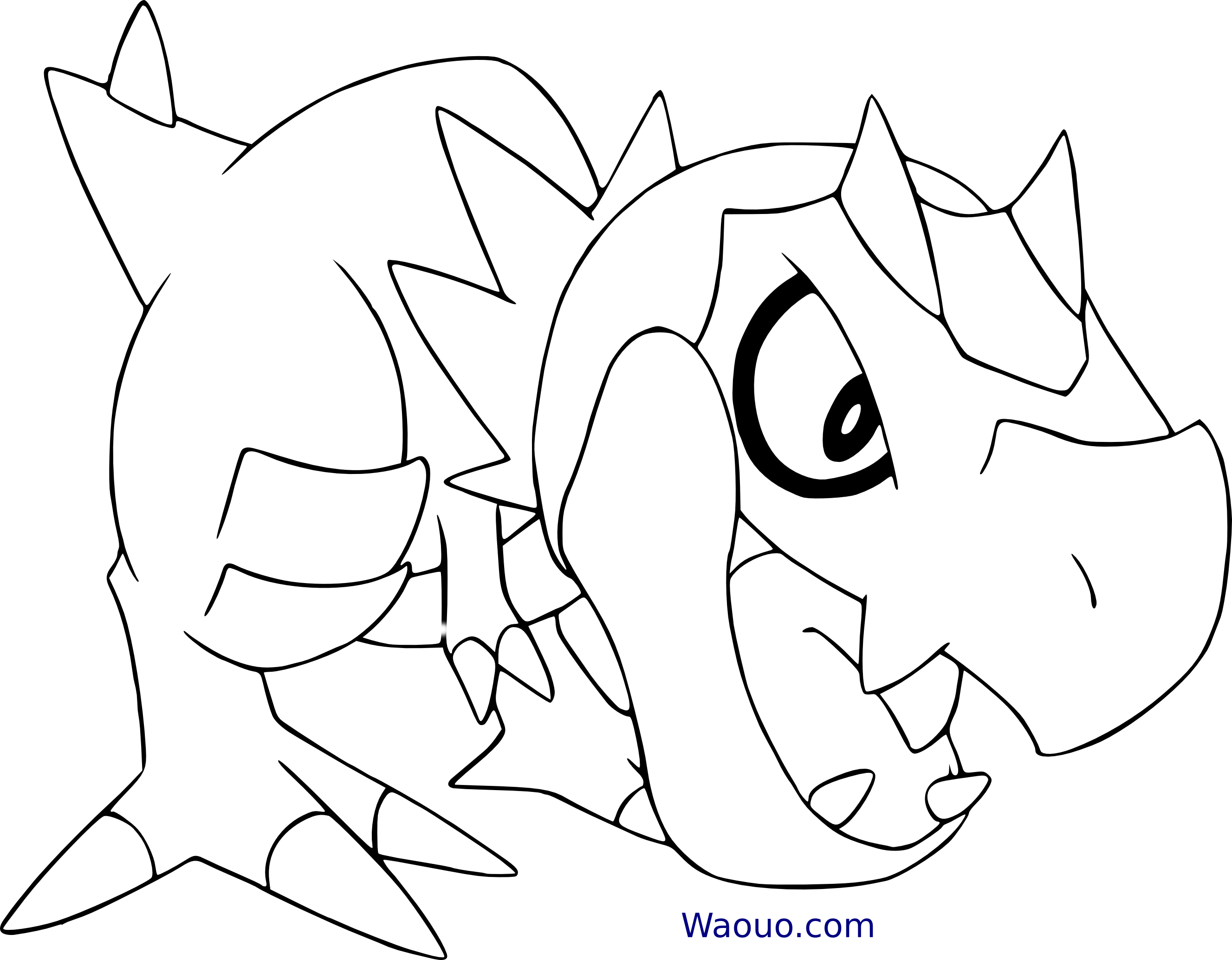 Ptyranidur coloriage pokemon ptyranidur imprimer - Coloriage pokemon brasegali ...