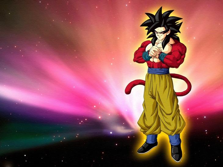 Sangoku Super Saiyan 4
