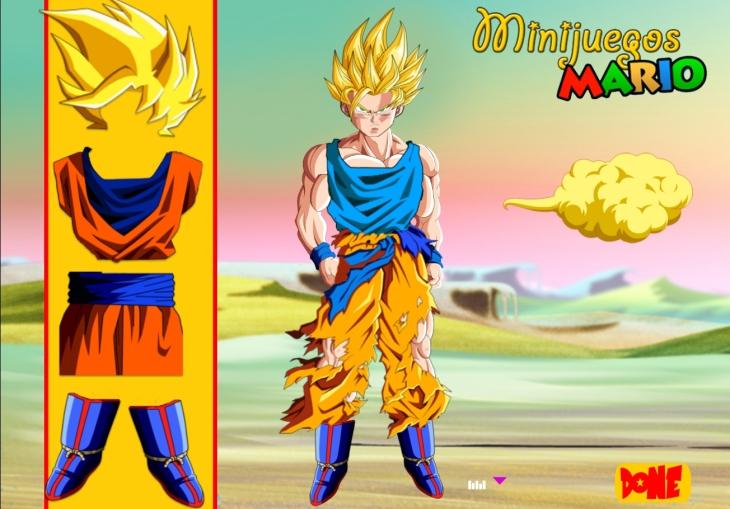 Jeu San Goku Habillage Gratuit En Ligne