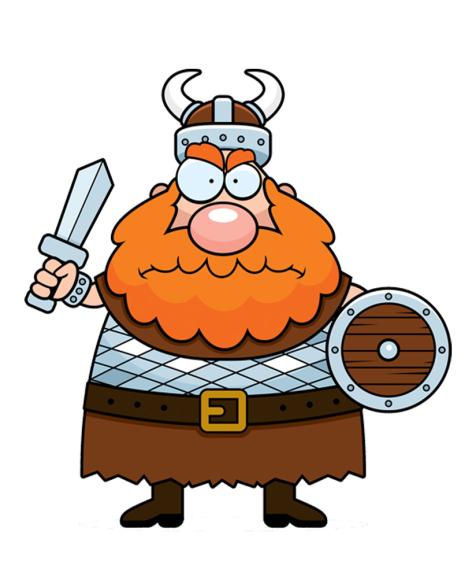 Viking dessin