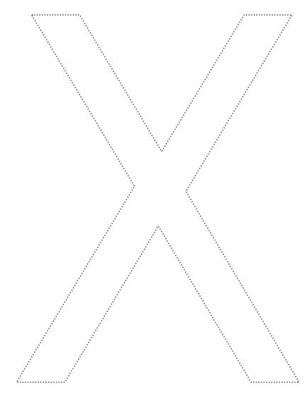 x-coloriage
