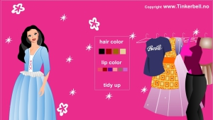 Barbie princesse robe