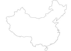 Carte Chine à imprimer