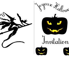 Carte Halloween imprimer
