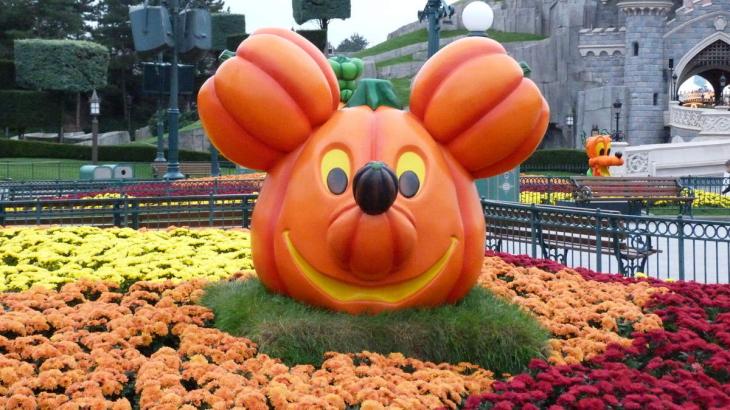 Citrouille Mickey