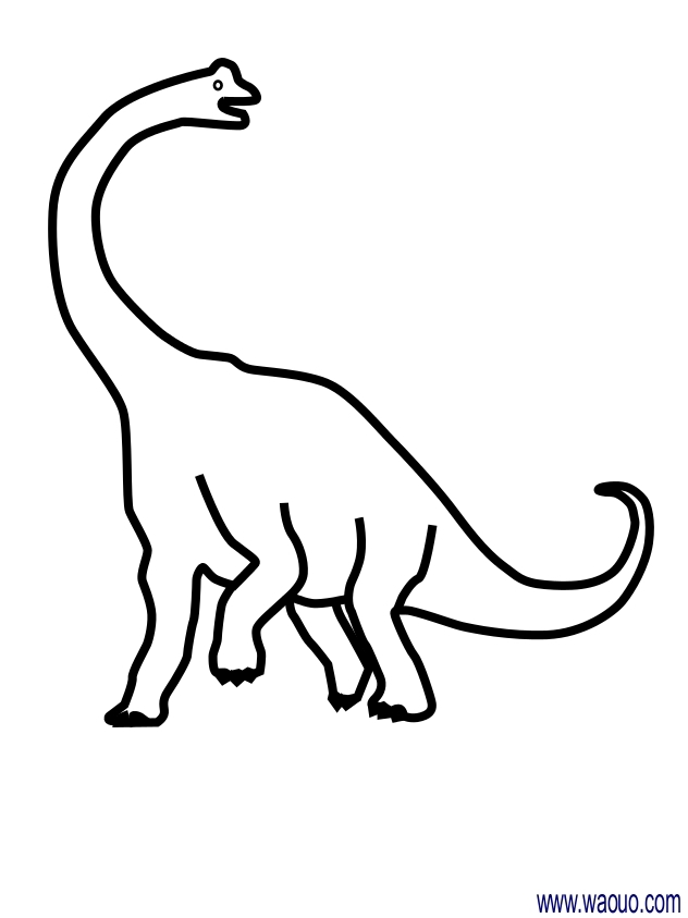 Coloriage dinosaure diplodocus imprimer et colorier - Coloriage diplodocus ...