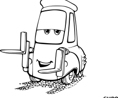 Coloriage Guido Cars